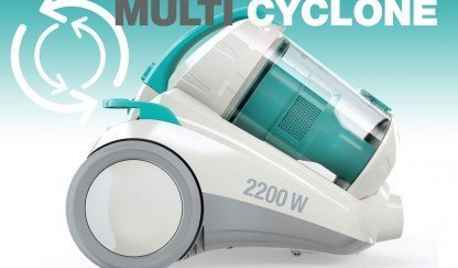 First manufactured  multi cylonic vacuum cleaner in Turkey is TR 8600 TOZ KAPANI!