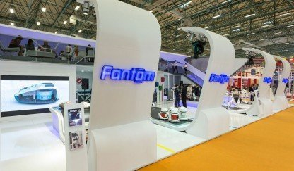 Fanset exhibited at International ISSA/INTERCLEAN Endustrial Cleaning Fair  with Fantom and Fantom Professional Brand!